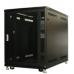 25U Knock-Down Server Rack Cabinet with Casters - Acrylic Door