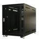 25U Knock-Down Server Rack Cabinet with Casters - Acrylic Door