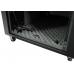 12U Silent Server Cabinet for AV, Small Office/SOHO - Beech