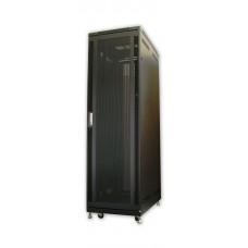 42U 36in Server Rack Cabinet with Steel Mesh Door